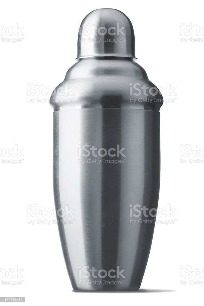 Drinks: Cocktail Shaker royalty-free stock photo