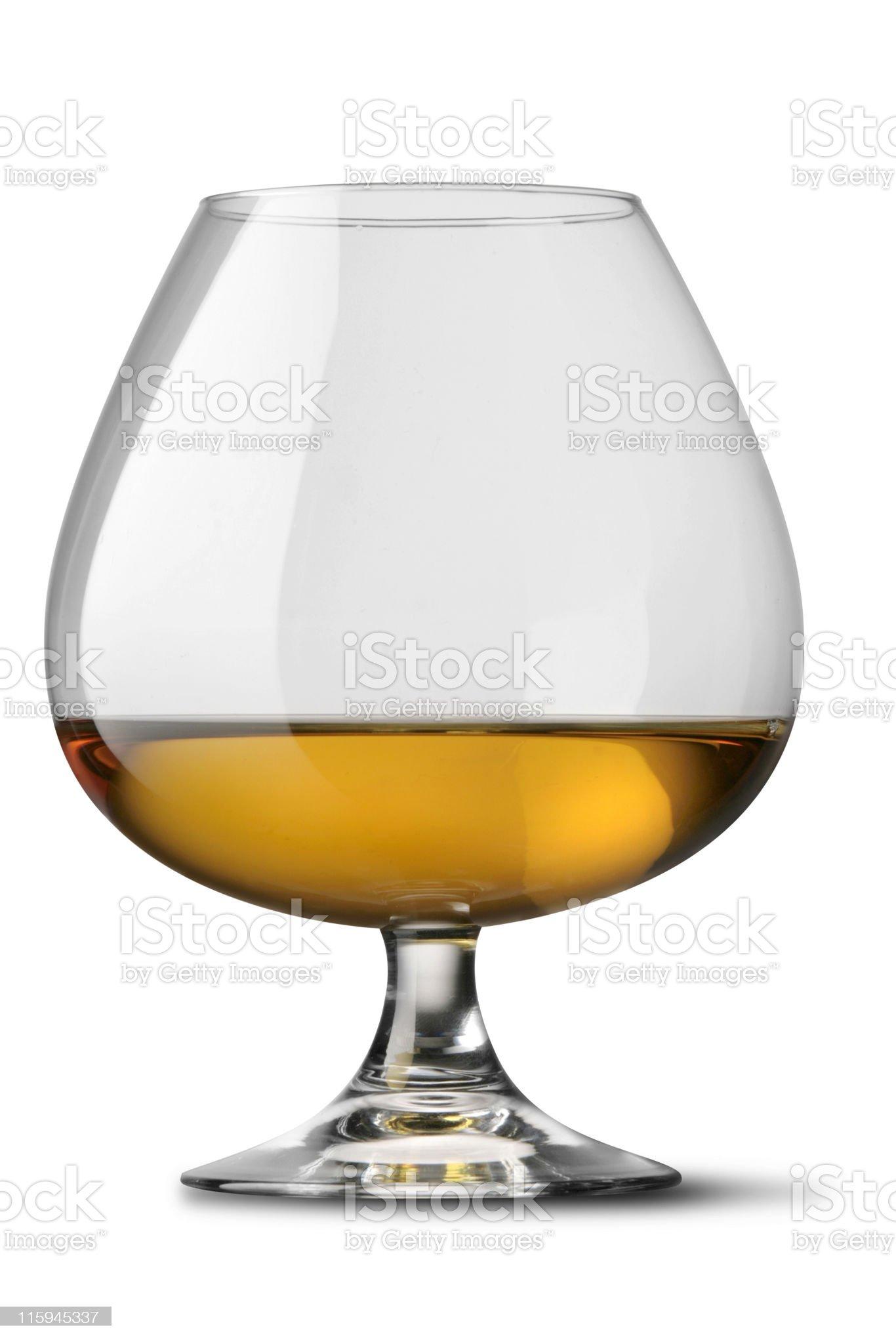 Drinks: Cognac royalty-free stock photo