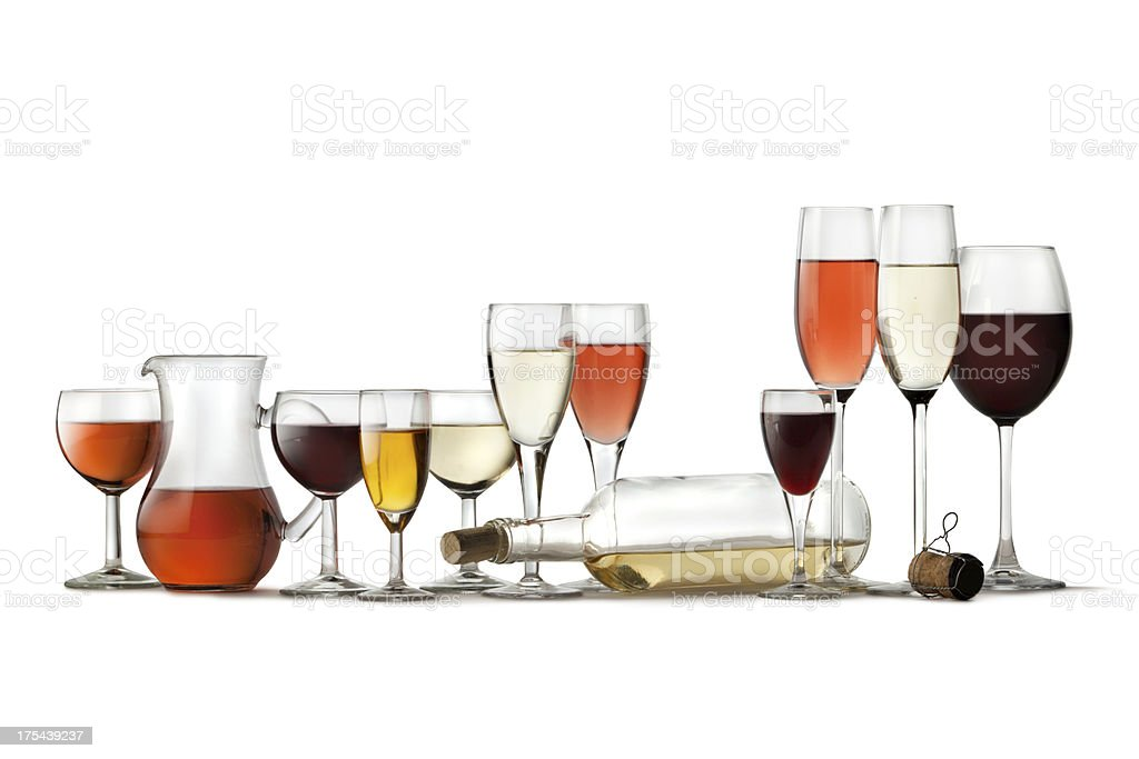 Drinks: Collection stock photo