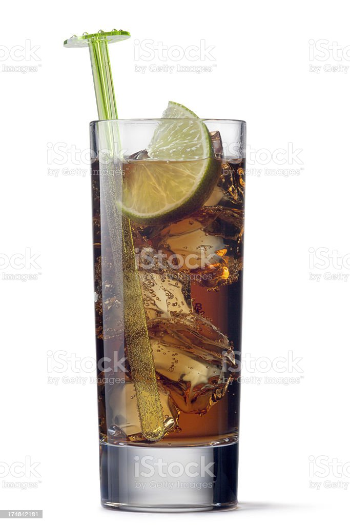 Drinks: Cuba Libre royalty-free stock photo