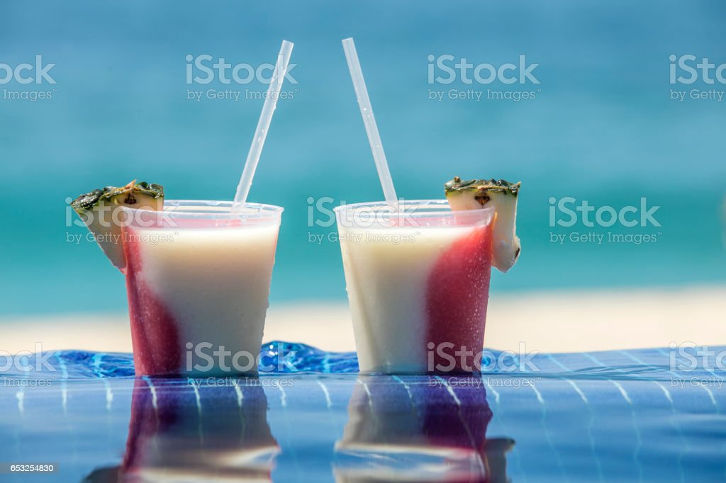 Drinks for Two stock photo
