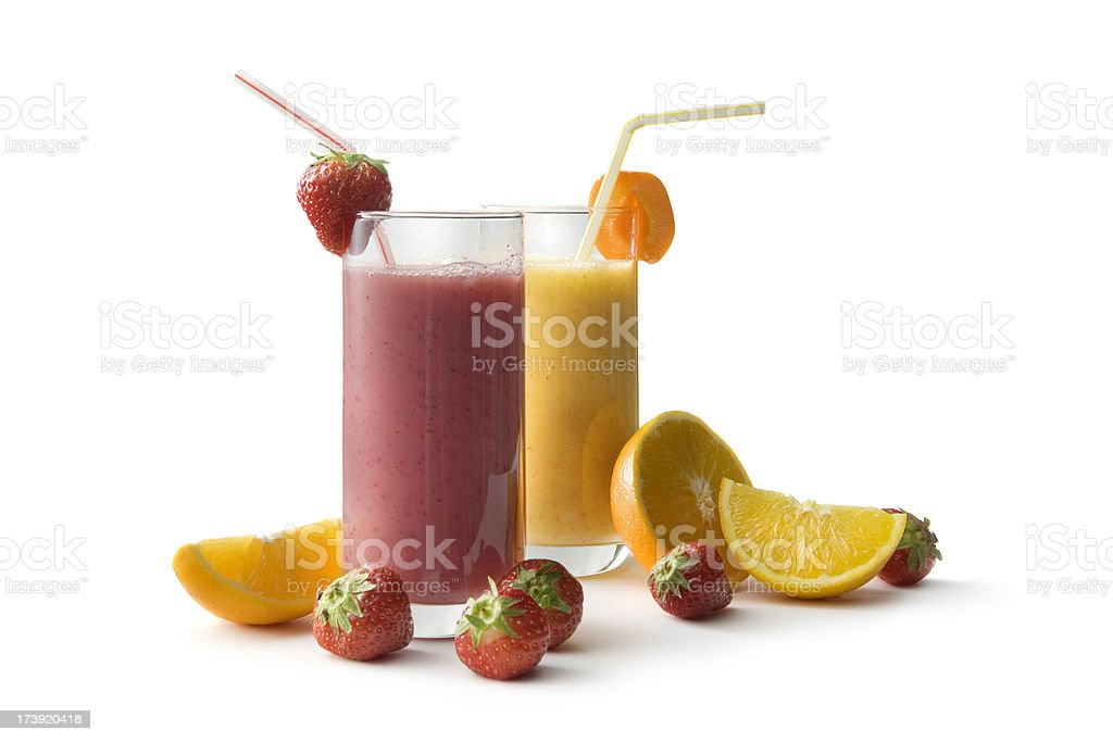 Drinks: Healthy Smoothie stock photo