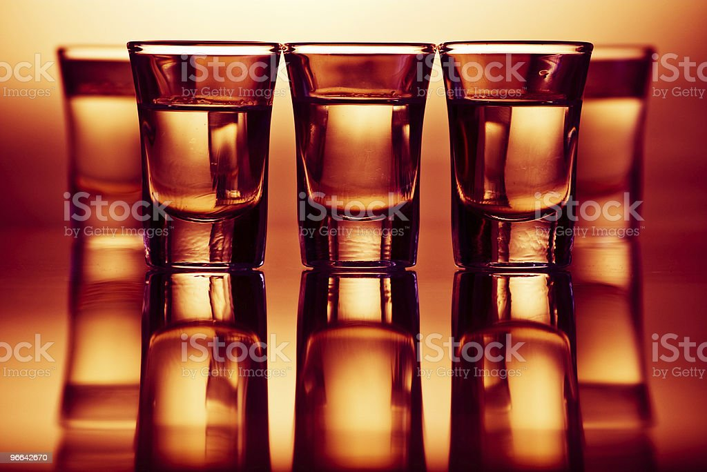 drinks in bar royalty-free stock photo