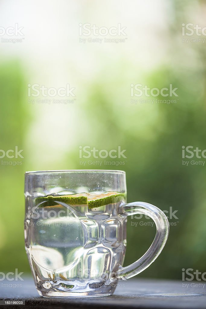 drinks in glass cup royalty-free stock photo
