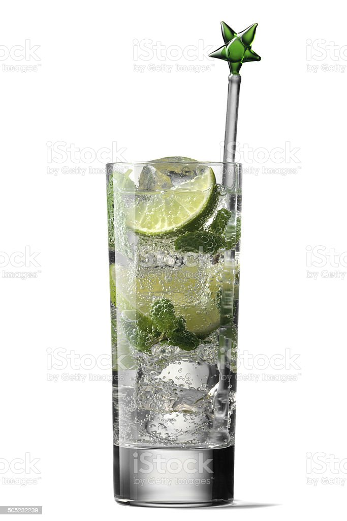 Drinks: Mojito royalty-free stock photo