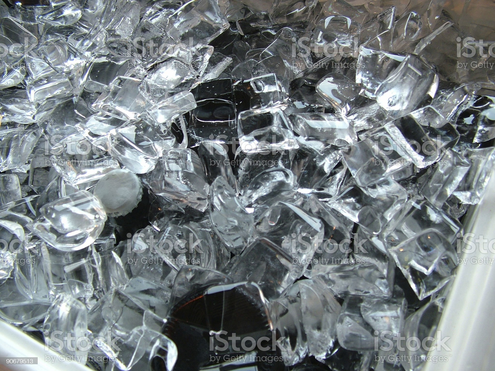 Drinks on Ice royalty-free stock photo
