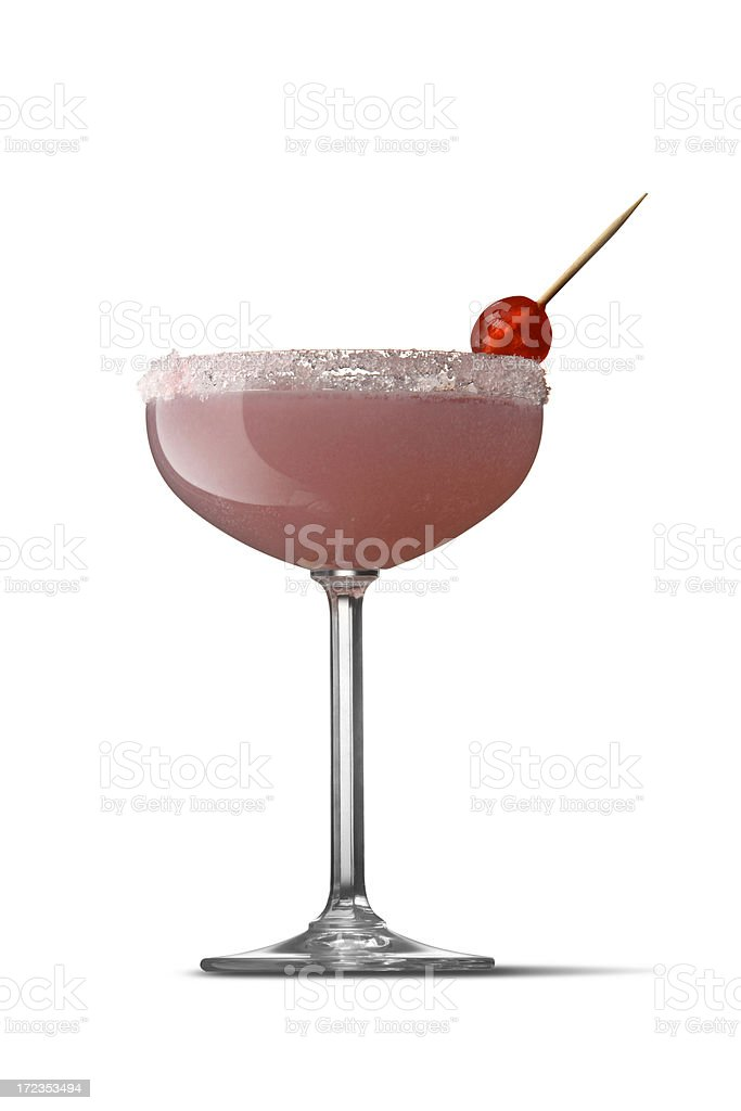 Drinks: Pink Lady royalty-free stock photo