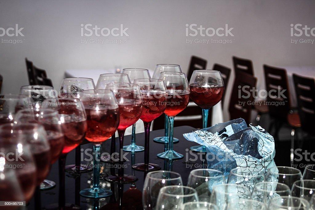 Drinks Ready stock photo