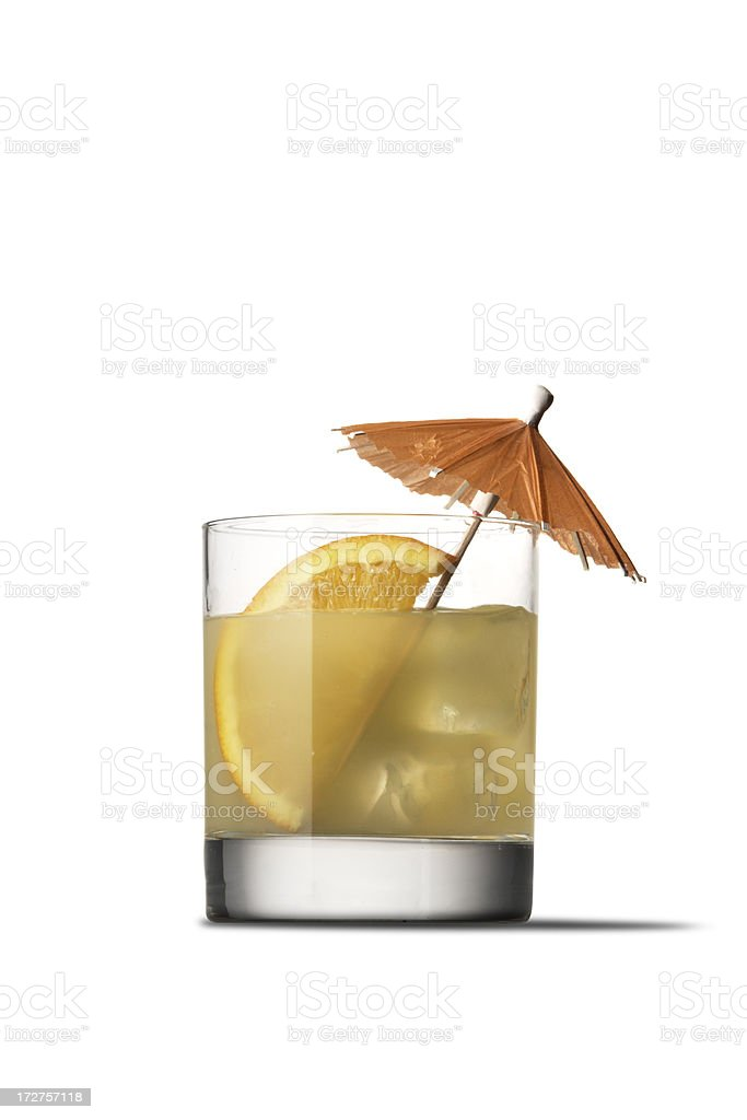 Drinks: Screwdriver royalty-free stock photo