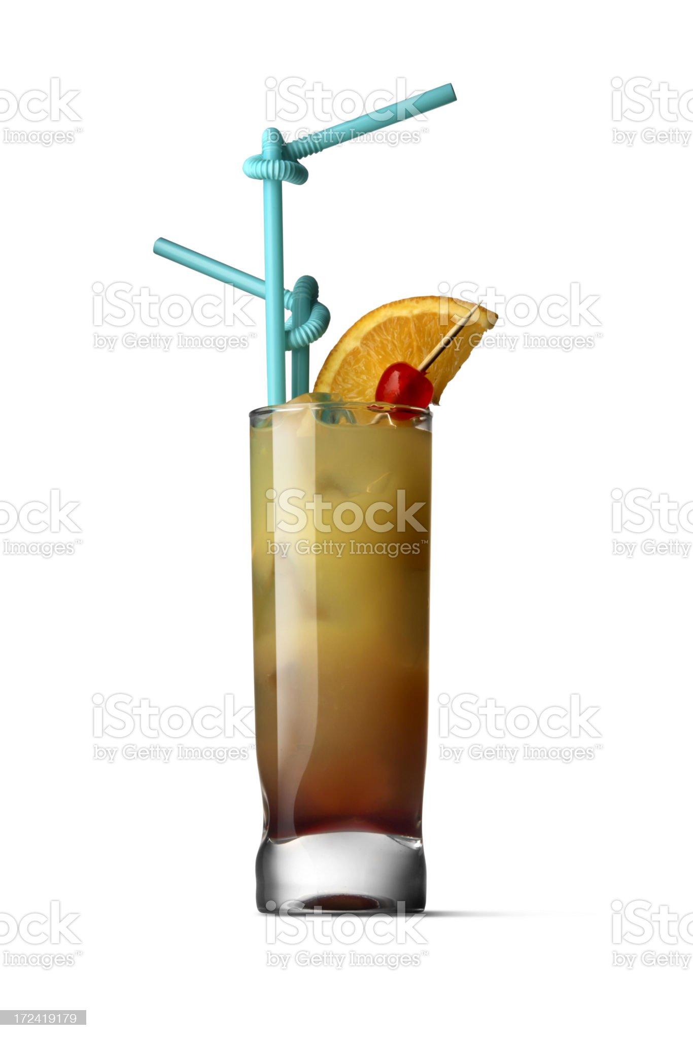 Drinks: Tequila Sunrise royalty-free stock photo