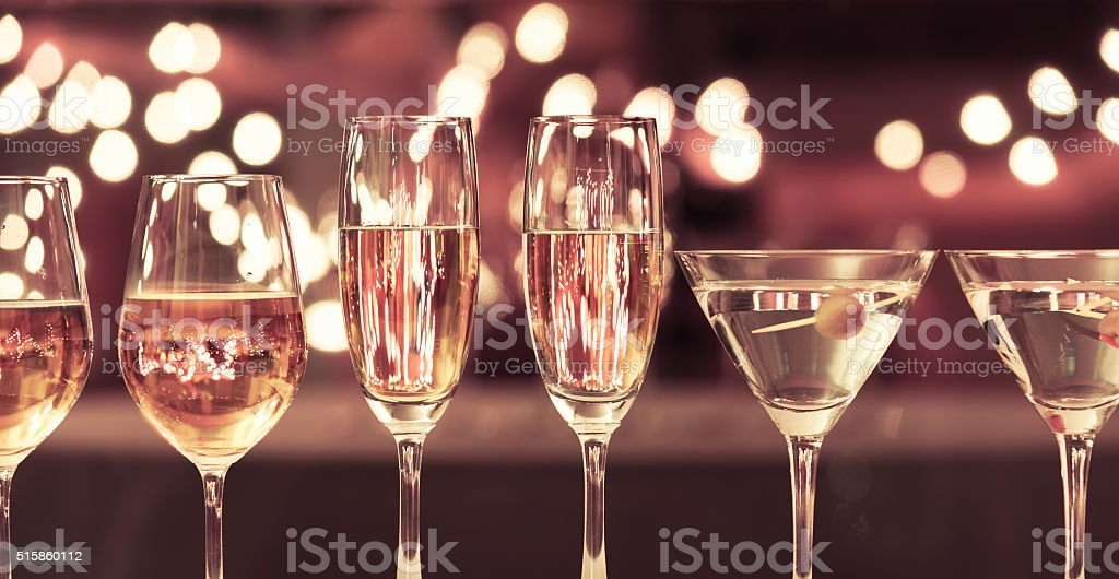 Drinks variation stock photo