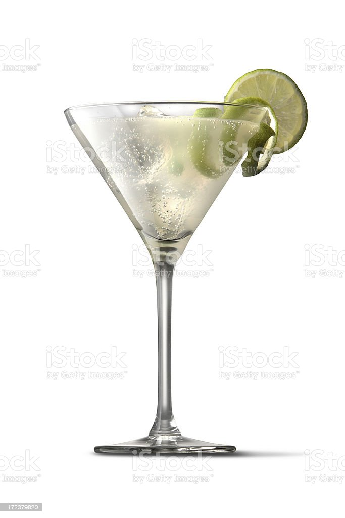 Drinks: White Lady royalty-free stock photo