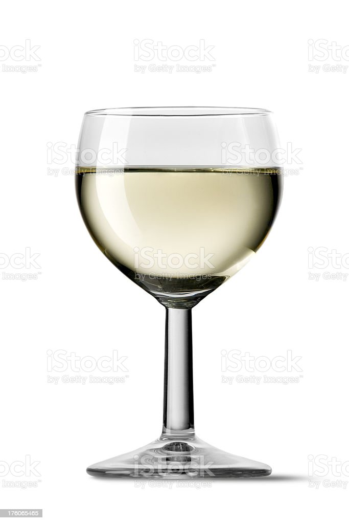Drinks: White royalty-free stock photo