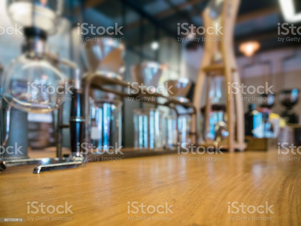 Drip Coffee Glass Kits Cafe Restaurant Shop display stock photo