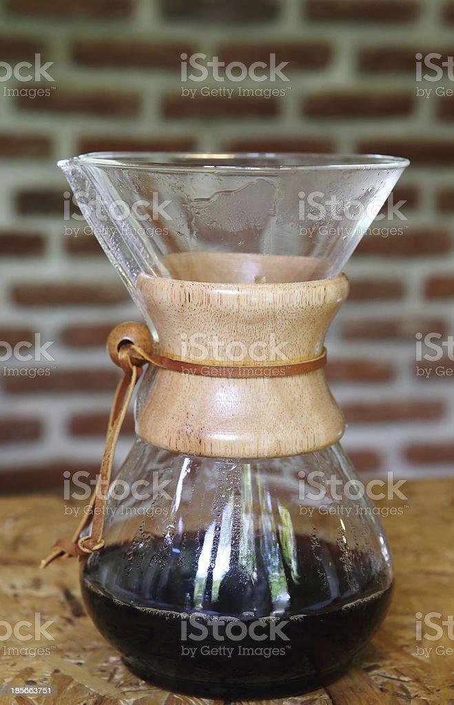 Drip Coffee Maker royalty-free stock photo