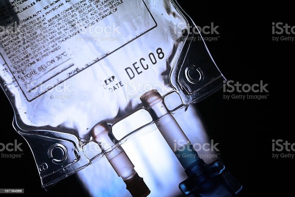 IV drip royalty-free stock photo