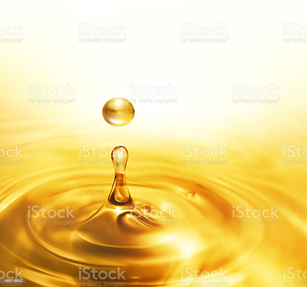 dripping oil stock photo