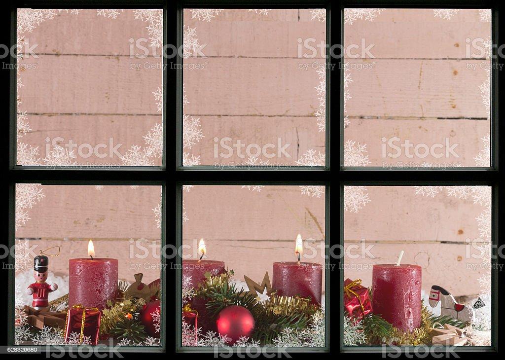Dritter Advent stock photo