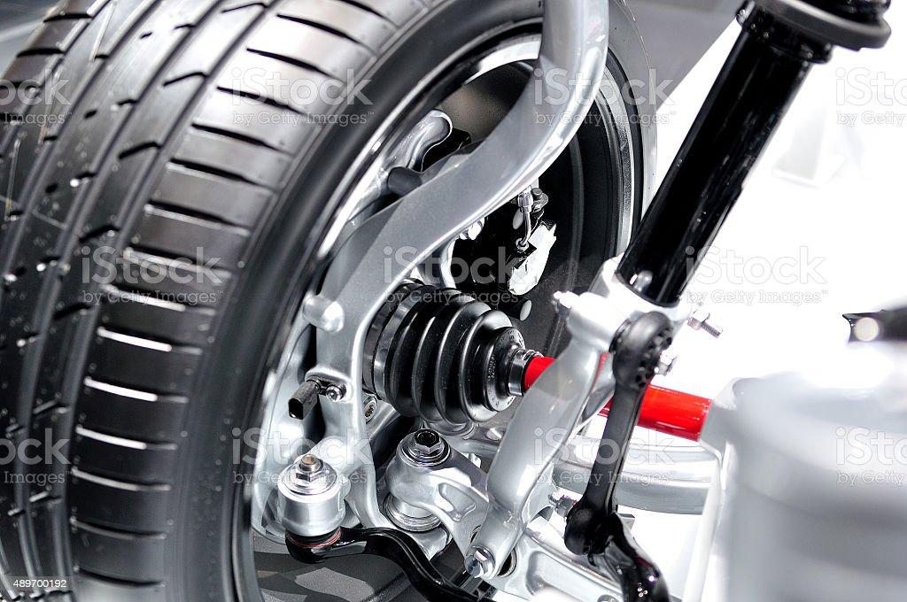 Drive axle. stock photo
