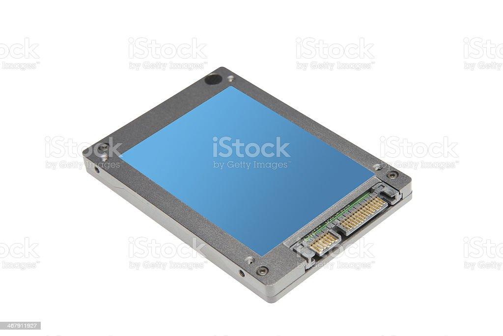 SSD drive stock photo