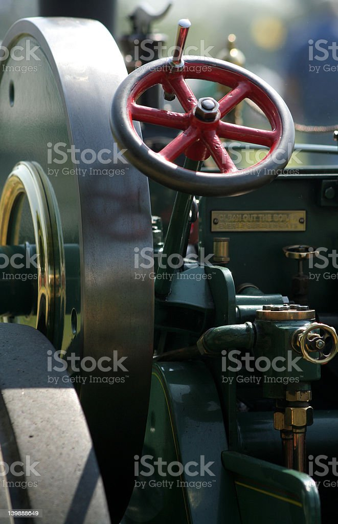 You may want to set up onto the beautifully restored Steam Roller and...