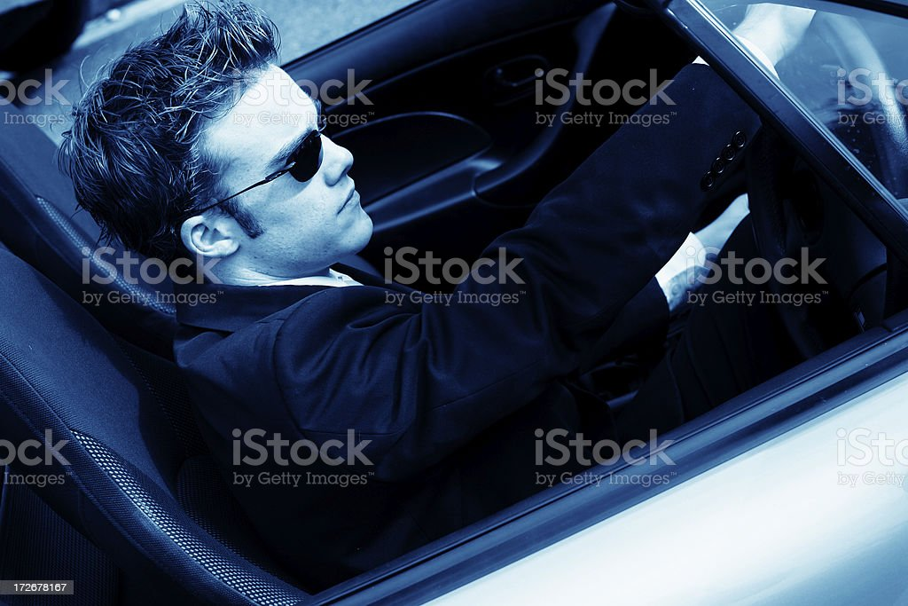 Driven royalty-free stock photo