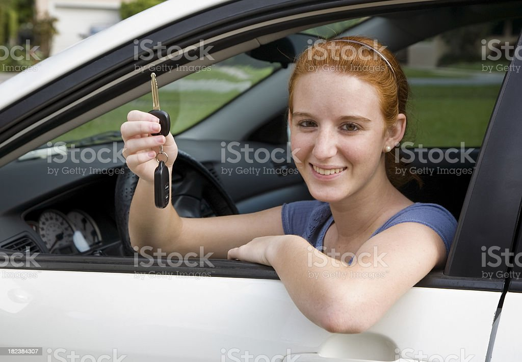 Driver license royalty-free stock photo