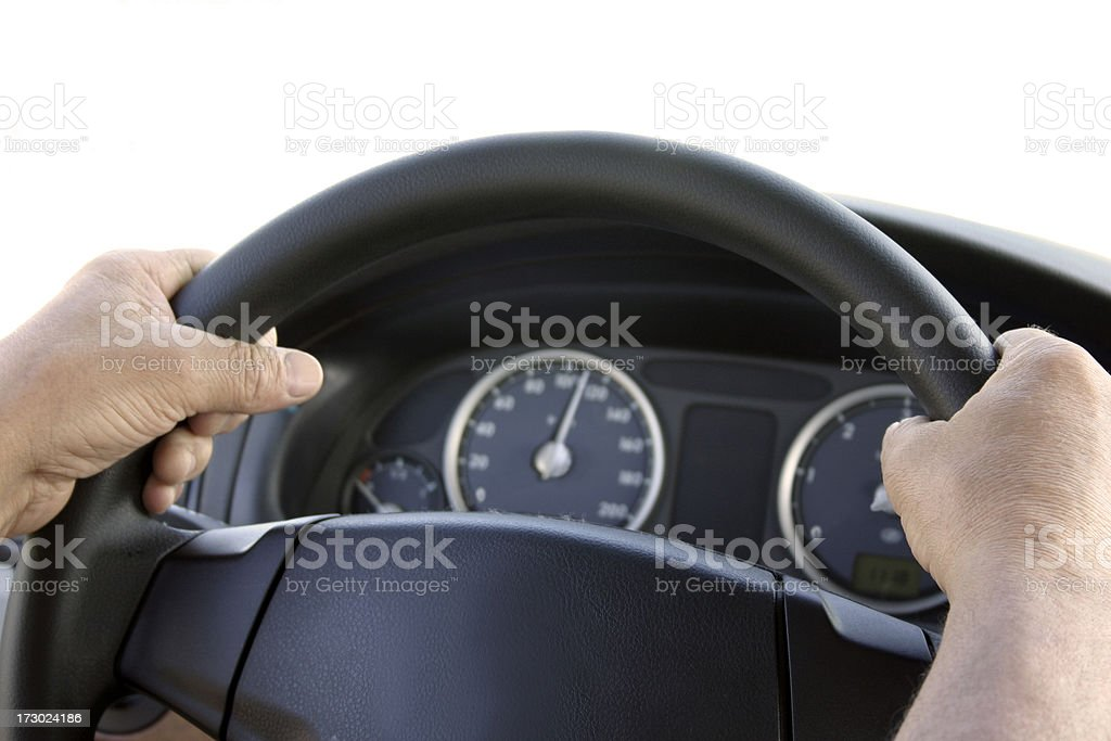 Driver royalty-free stock photo