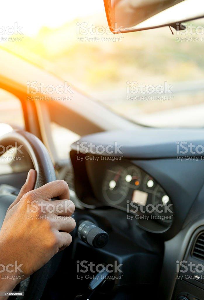 Driver stock photo