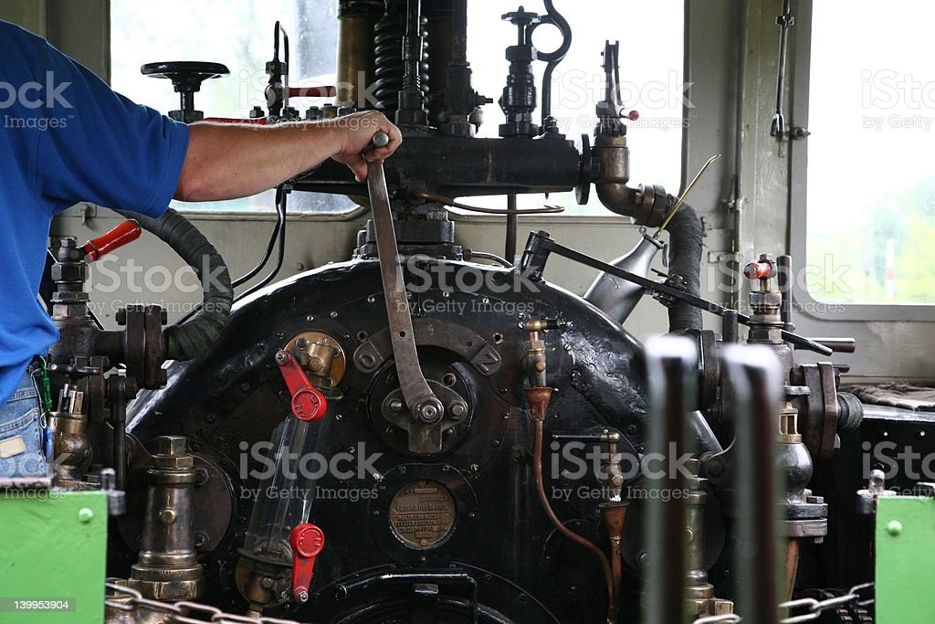 driver´s cab royalty-free stock photo