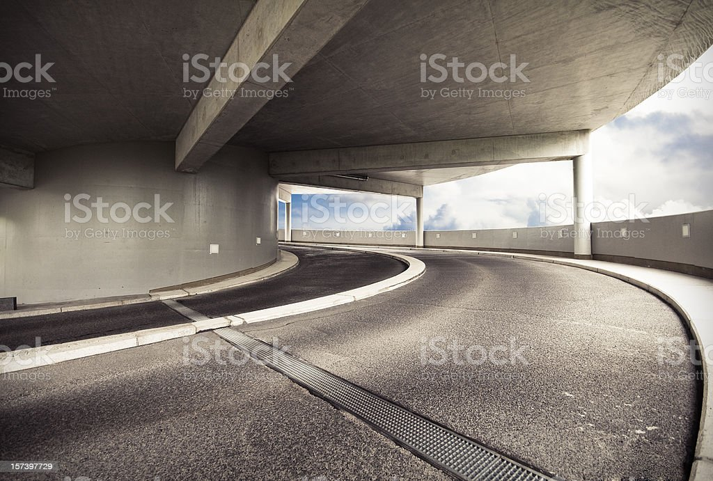 Driveway stock photo