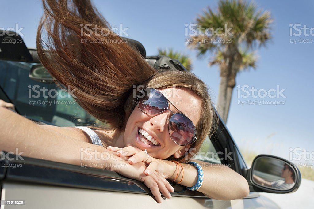 Driving freedom royalty-free stock photo