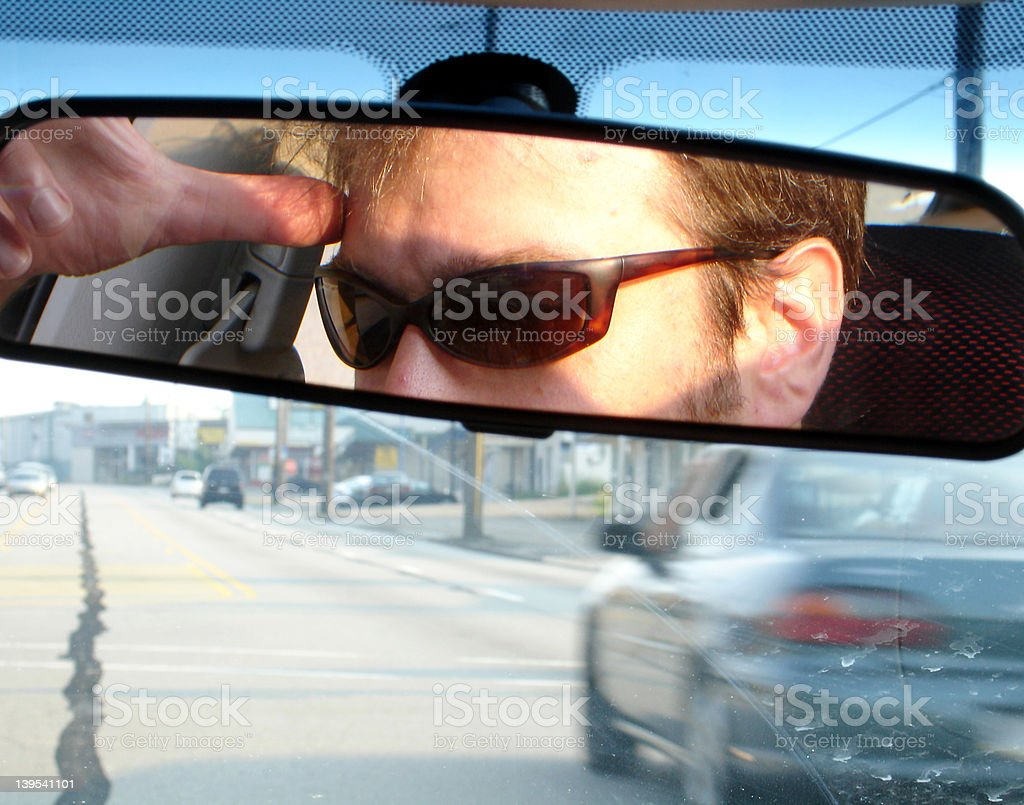 Driving Home royalty-free stock photo