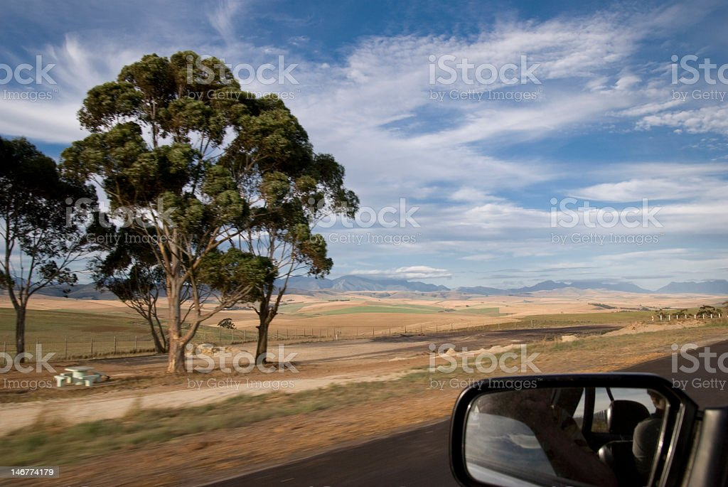 Driving on route 62 royalty-free stock photo