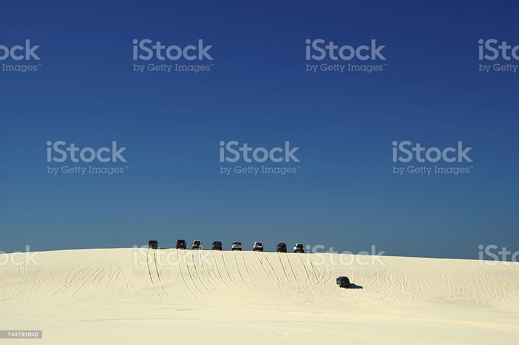 4WD Driving stock photo