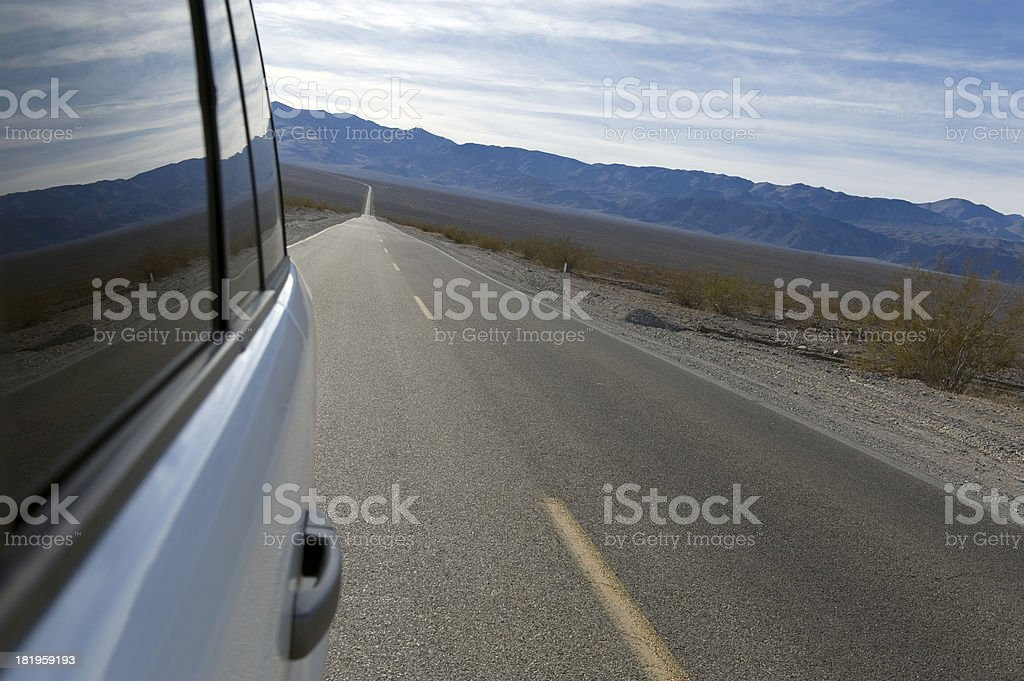Driving royalty-free stock photo