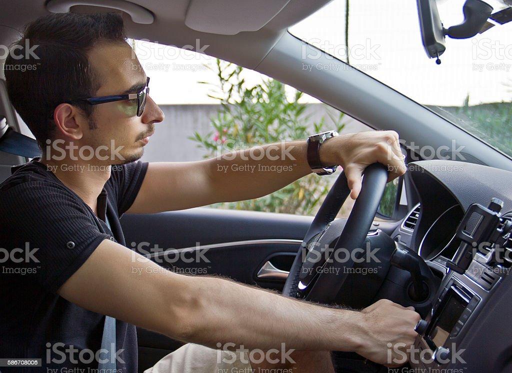 Driving stock photo