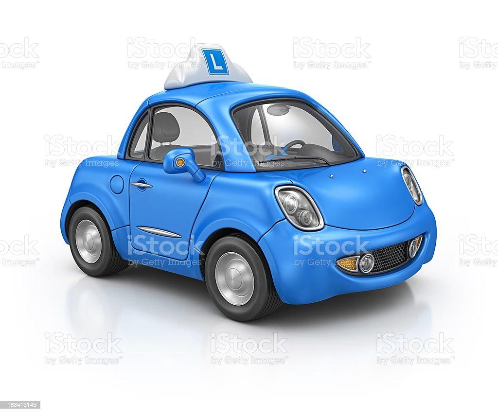 driving school car royalty-free stock photo