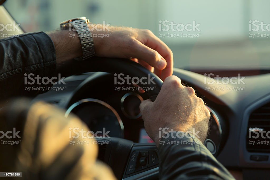 Driving Skills stock photo