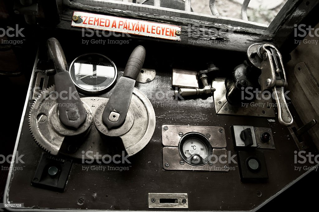 Driving stage stock photo