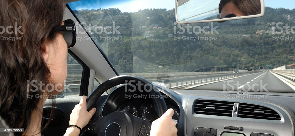 driving women stock photo