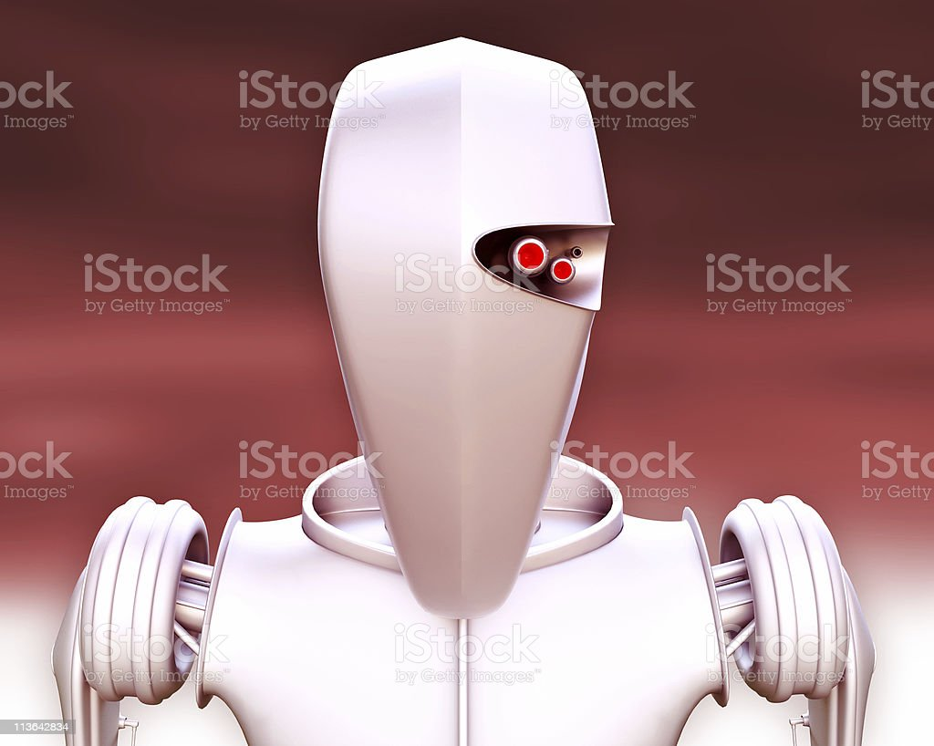 droid royalty-free stock photo