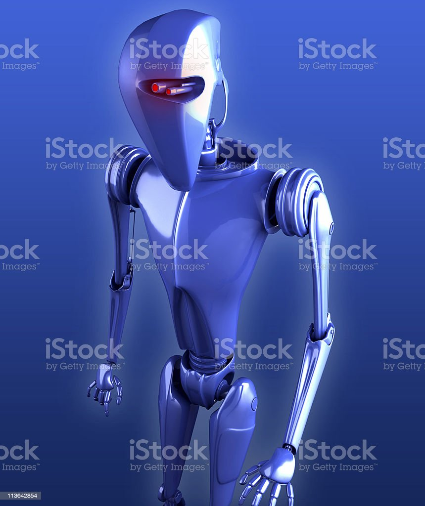 droid royalty-free stock photo
