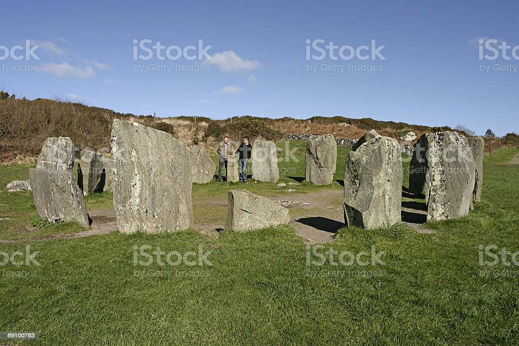 Dromberg Stone Circle royalty-free stock photo