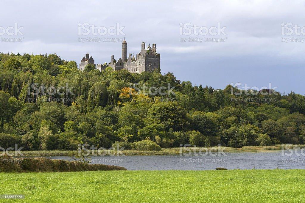 Dromore castle stock photo