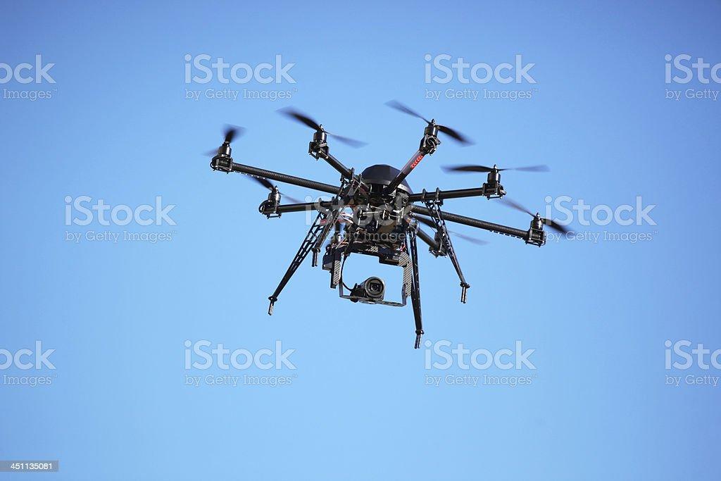 UAV Drone stock photo