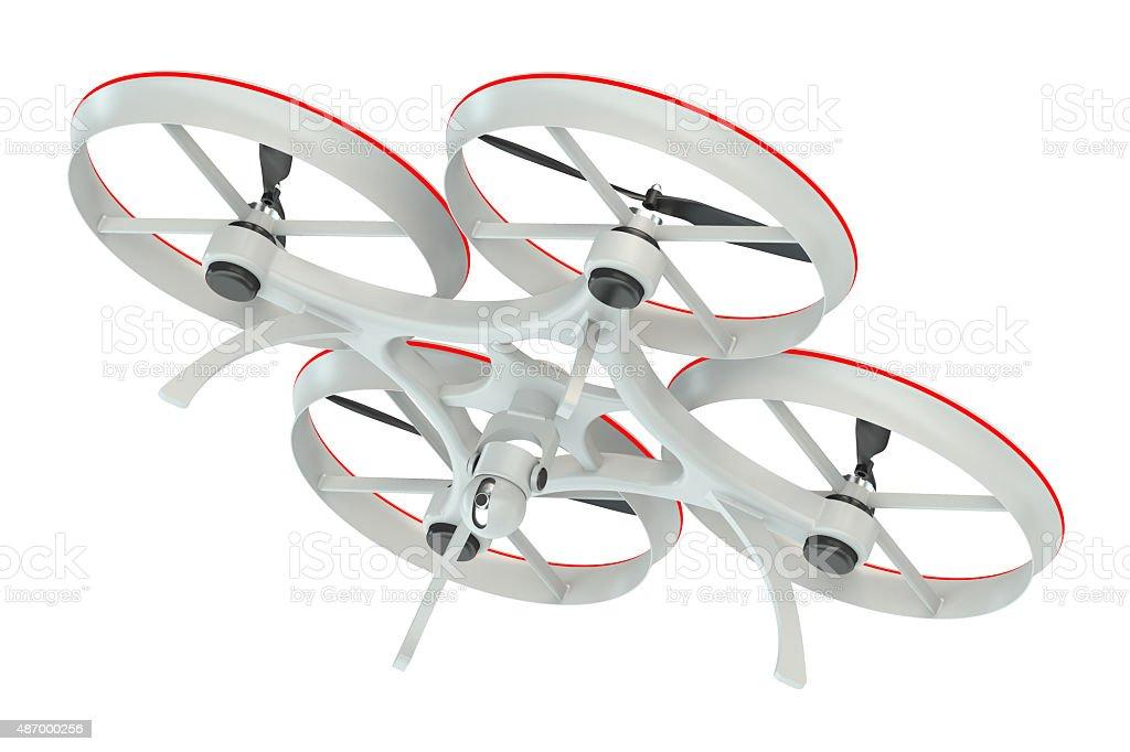 Drone quadrocopter stock photo