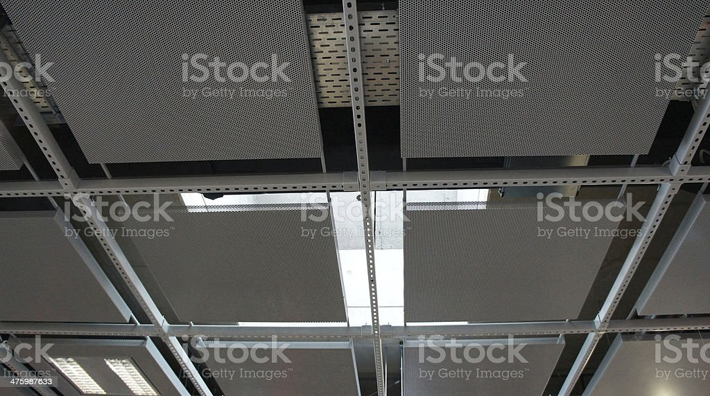 Drop ceiling royalty-free stock photo
