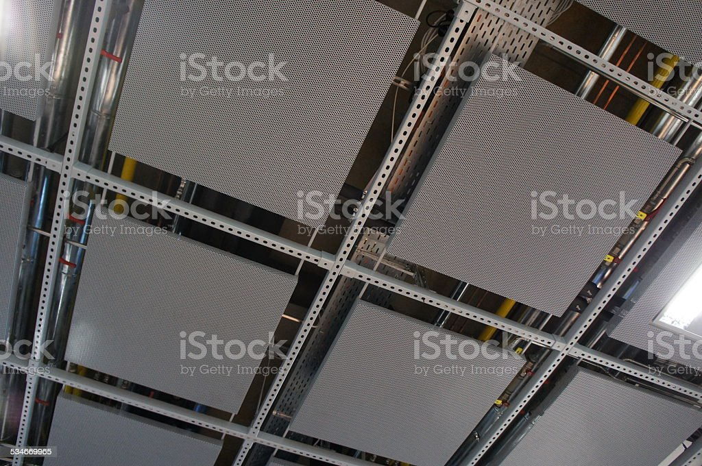 Drop ceiling stock photo