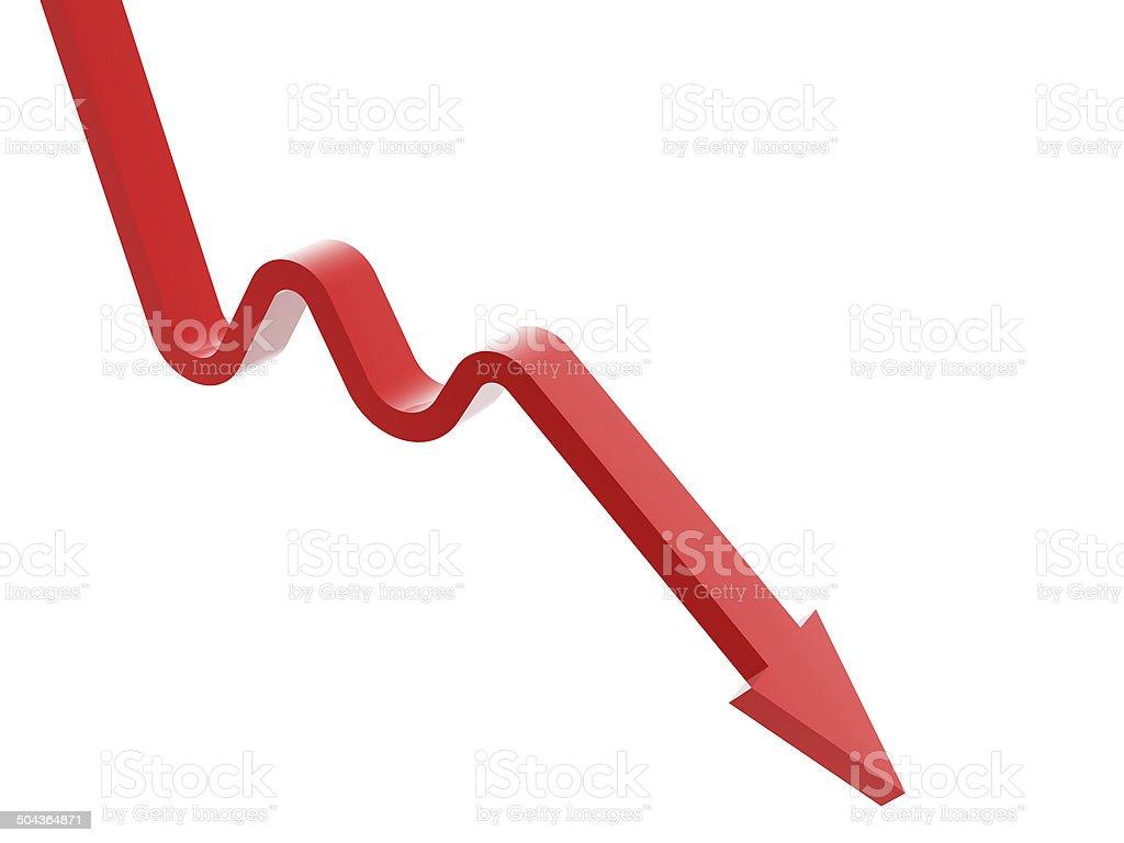 drop down arrow stock photo